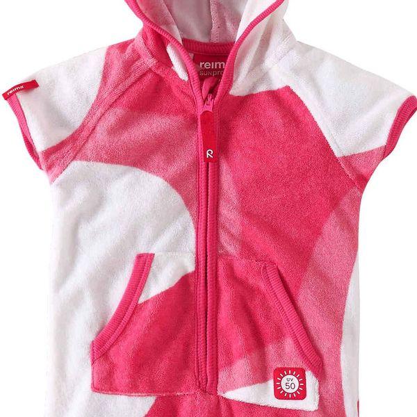 Reima Dívčí overal s UV ochranou 50+ Oahu supreme pink
