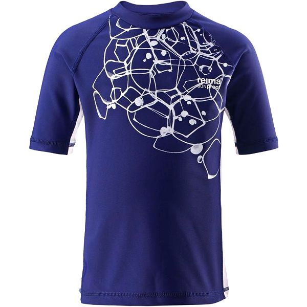 Reima Chlapecké plavecké tričko s UV 50+ Crete navy
