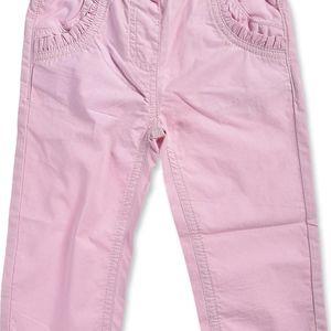 Blue Seven Dívčí kalhoty - světle růžové