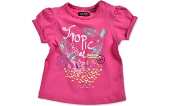 Blue Seven Dívčí tričko Tropical - růžové