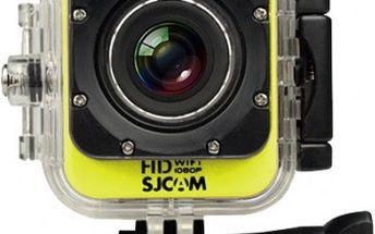 SJCAM M10 CUBE WIFI sportovní kamera - žlutá