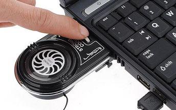 Mini USB chladič pro notebook - dodání do 2 dnů