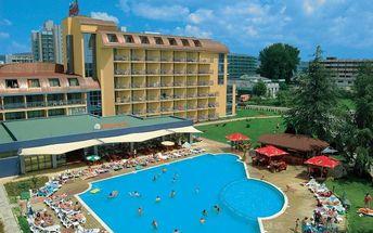 Bulharsko - Slunečné Pobřeží na 8 až 10 dní, all inclusive s dopravou letecky z Prahy nebo letecky z Brna 150 m od pláže