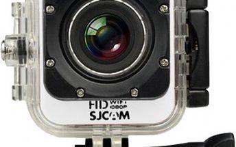 SJCAM M10 CUBE WIFI sportovní kamera - bílá