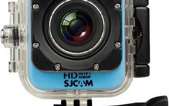 SJCAM M10 CUBE WIFI sportovní kamera - modrá