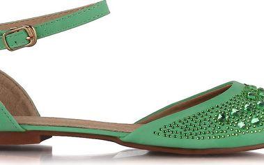 Zelené baleríny
