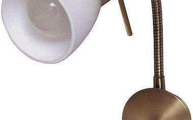 Nástěnné svítidlo Rabalux Soma 6320 bronzová/bílá