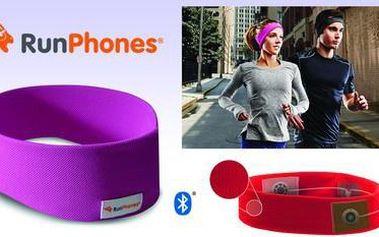AcousticSheep RunPhones® Wireless Violet L RB2ML