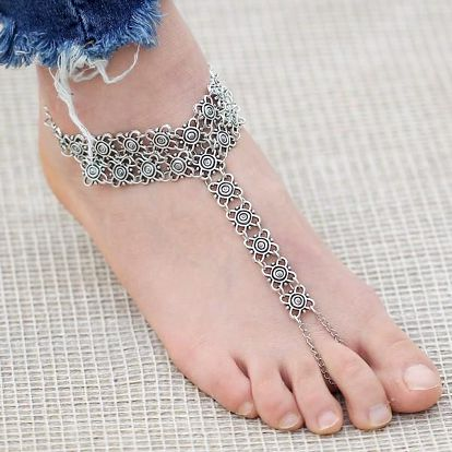 Vintage řetízek na nohu Lilian
