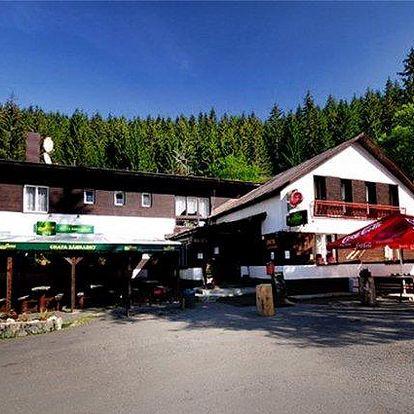 3–6denní pobyt pro 2 osoby se snídaněmi v Chatě Zahrádky na Slovensku