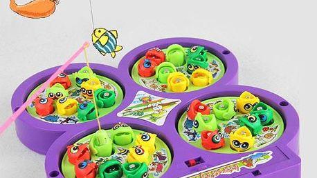 Dětská hra - magnetické rybičky - skladovka - poštovné zdarma