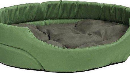 Argi pelech oválný s polštářem Zelený vel. XS