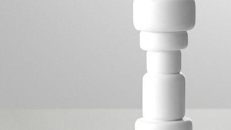 Muuto mlýnek na pepř a sůl Plus 18 cm, bílý