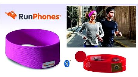 AcousticSheep RunPhones® Wireless Violet L RB2ML