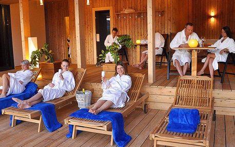 Báječné saunování a relax s výhledem na Vltavu