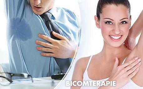 Ošetření přístrojem Elektro Antiperspirant pro zbavení nadměrného pocení!