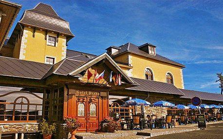 3 až 6denní pobyt s wellness a polopenzí v hotelu Praha v Božím Daru pro 2