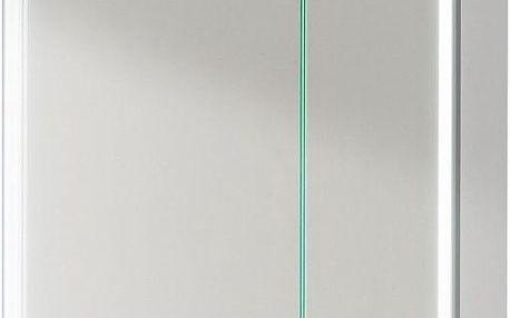Fackelmann Zrcadlová skříňka s LED osvětlením 61x67 cm