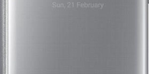 Samsung EF-ZG935CS FlipClearView Galaxy S7e,Silver - EF-ZG935CSEGWW