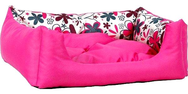 Argi pelech obdélníkový s polštářem se vzorem Růžový vel. S