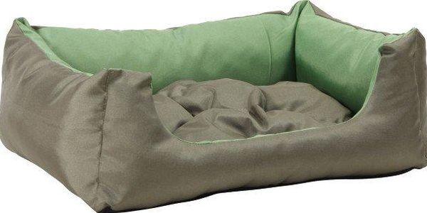 Argi pelech obdélníkový s polštářem Zelený vel. L