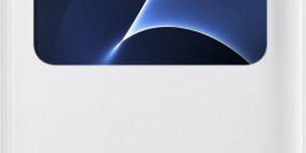 Samsung EF-CG935PW Flip S-View Galaxy S7e, White - EF-CG935PWEGWW