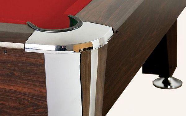 Kulečníkový stůl pool billiard kulečník 8 ft - s vybavením4