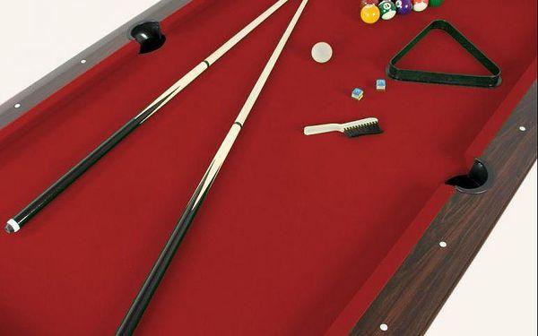 Kulečníkový stůl pool billiard kulečník 8 ft - s vybavením5