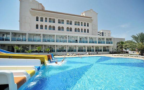 Turecko - Side na 7 až 11 dní, all inclusive s dopravou vídeň nebo letecky ze Sliače 250 m od pláže