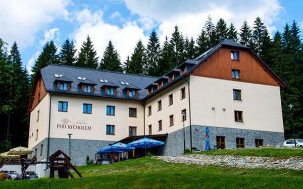 Oceněný 4* hotel Pod Kyčmolem s neomezeným vstupem do wellness a polopenzí