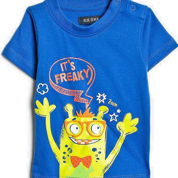 Blue Seven Chlapecké tričko Freaky - modré