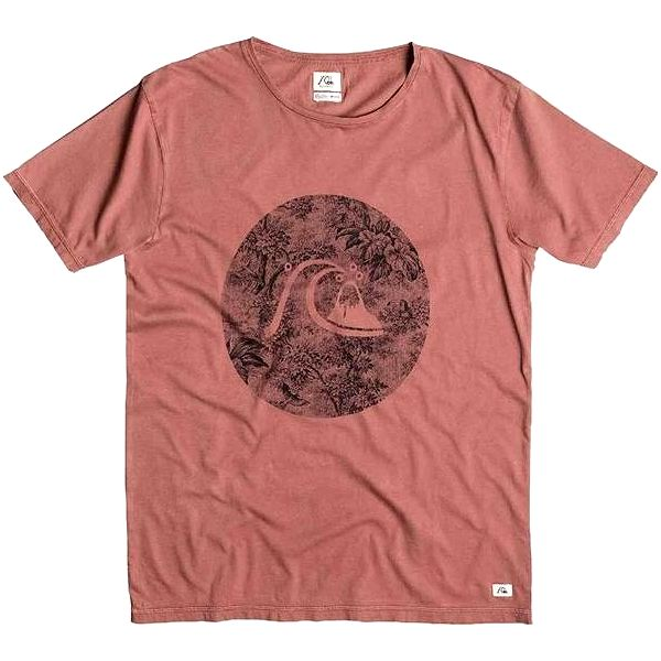 triko QUIKSILVER - Garment Dyed Sunset Tunels Mahogany (CPS0) velikost: L