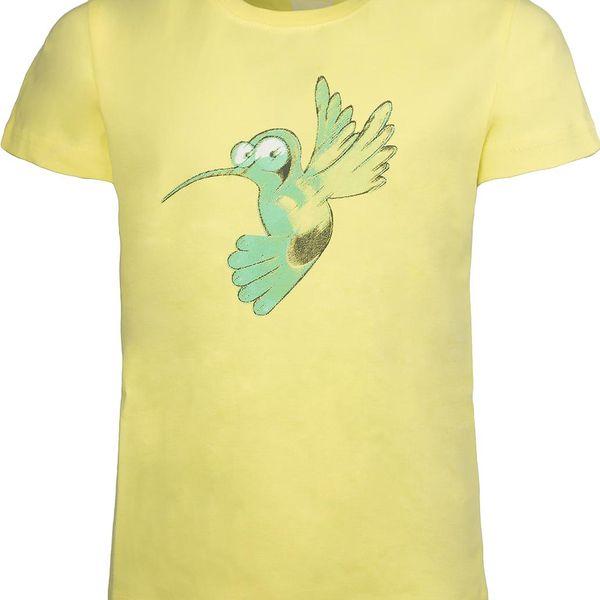 Hannah Dětské tričko DORIS KIDS - limetkové
