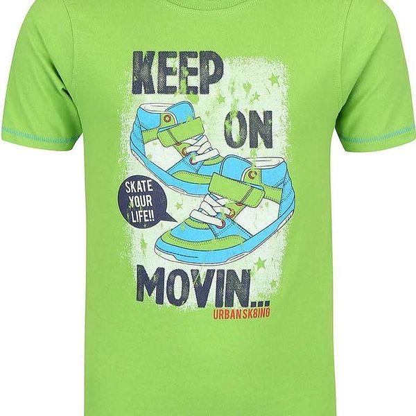 Blue Seven Chlapecké tričko Keep on Movin - zelené
