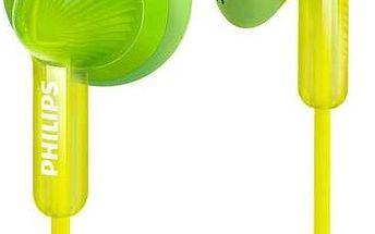 Sluchátka Philips SHE3010GN (SHE3010GN) zelená + Doprava zdarma