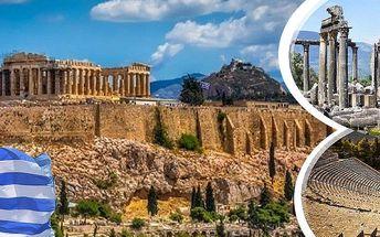 Poznávací zájezd pro jednoho do Řecka s nabitým programem na 9-12 dní s dopravou, snídaněmi..