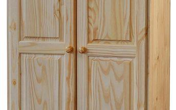 Skříň 2 dveřová 8860, lakovaná