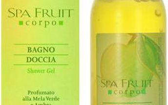 Frais Monde Spa Fruit Shower Gel Green Apple and Amber Sprchový gel 200ml pro ženy Zelené jablko a ambra