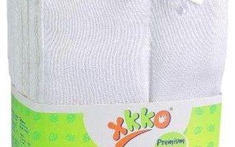 Kikko Skládané bavlněné pleny Bílé - Premium