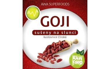 Goji sušené plody BIO RAW 1000g