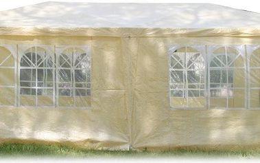 Zahradní párty stan Horneet 3x6 m, bílé plachty, doprava zdarma