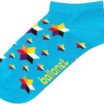 Kotníkové ponožky Galaxy, velikost 36-40
