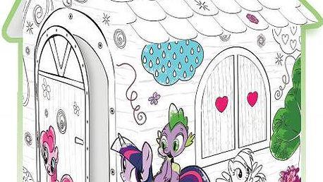 Mochtoys Omalovánkový domeček My Little Pony