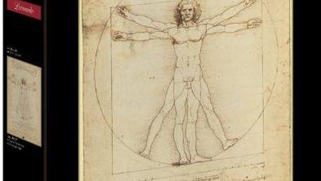 Clementoni Puzzle Vitruvian Man 1000 dílků