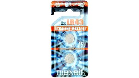 Maxell LR 43L 10BP 186 / V12GA