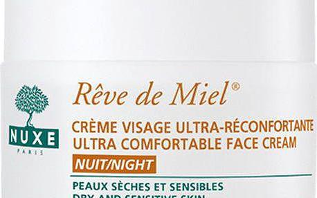 Nuxe Výživný noční krém pro suchou a citlivou pleť Reve de Miel (Ultra Comfortable Face Cream Night) 50 ml