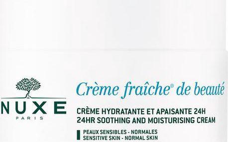 Nuxe Zklidňující a hydratační krém pro normální pleť Creme Fraiche® De Beauté (24HR Soothing and Moisturizing Cream) 50 ml + doprava zdarma