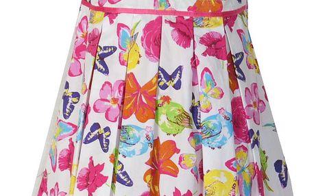 Topo Dívčí šaty s motýlky - barevné