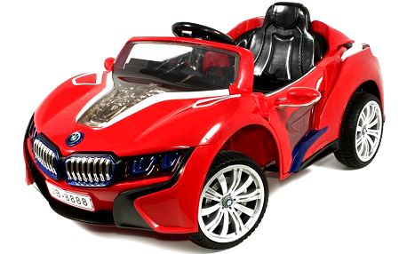 Dětské autíčko TOBI MP4 na DO, obrazovka, svítící a zvukové efekty, doprava zdarma