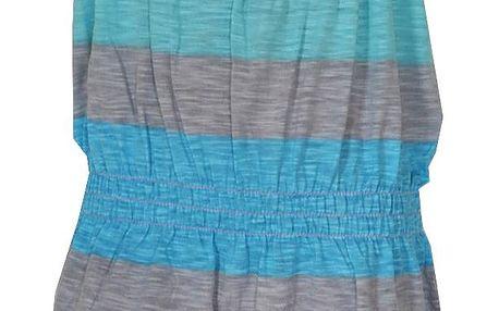 Topo Dívčí pruhované šaty - barevné